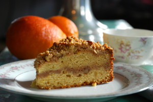 Blood Orange-Ricotta Coffee Cake