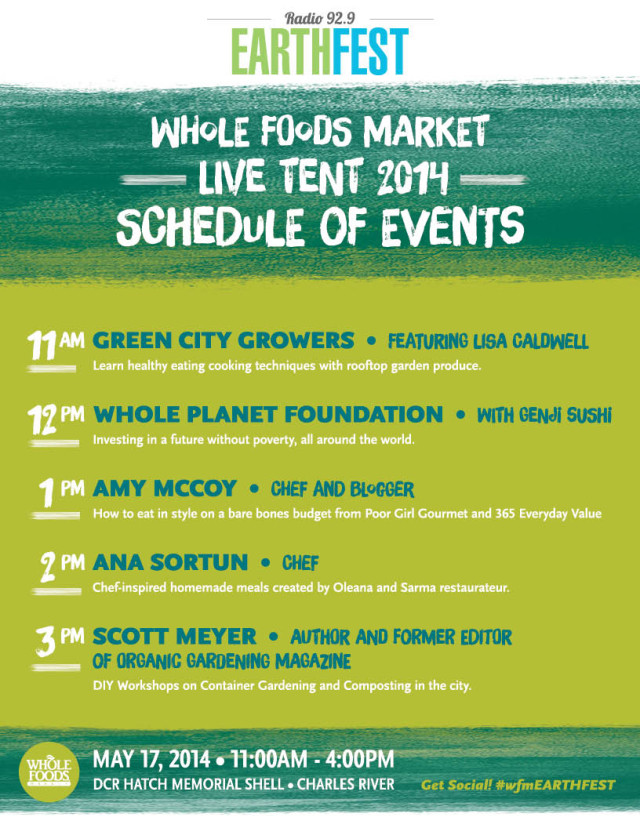 WholeFoods-Earthfest-14-LiveTent-Schedule