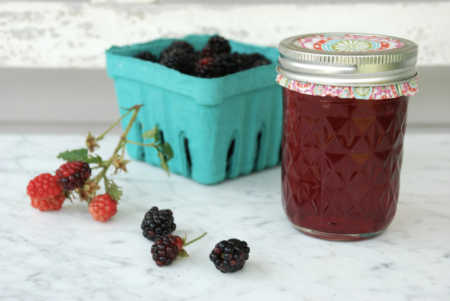 this-week-in-the-garden-end-of-July-blackberry-syrup | tinyfarmhouse