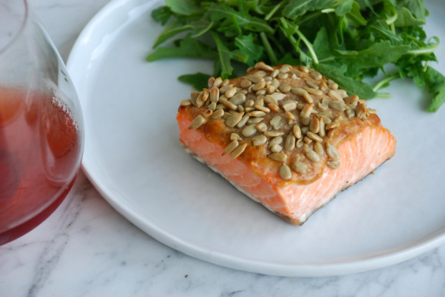 roasted-salmon-with-peanut-sauce 5 | tinyfarmhouse