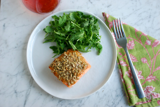 roasted-salmon-with-peanut-sauce 8 | tinyfarmhouse