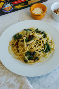 Linguine with Fennel and Kale + a Dreamfields giveaway