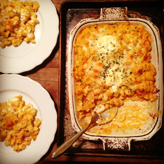 roasted-butternut-squash-mac-and-cheese | tiny farmhouse