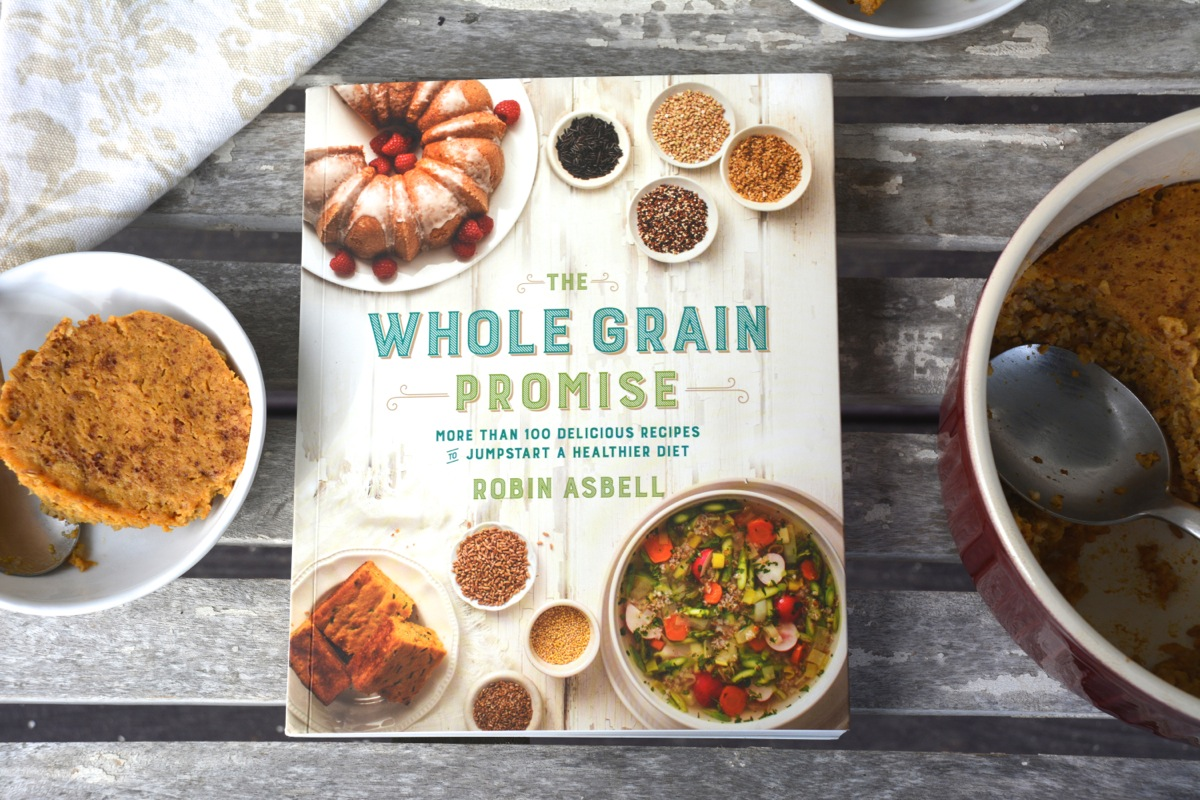 Pumpkin Pie Baked Steel Cut Oats from The Whole Grain Promise: More Than 100 Recipes to Jumpstart a Healthier Diet + a giveaway
