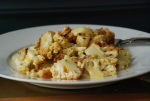 Sicilian-Style Roasted Cauliflower with Orange, Fennel Seed, and Raisins
