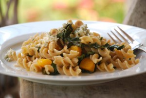 Fusilli with Sicilian-Spiced Butternut Squash and Kale for No Kid Hungry