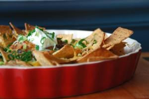 Three-Bean Chili (and nachos, too)