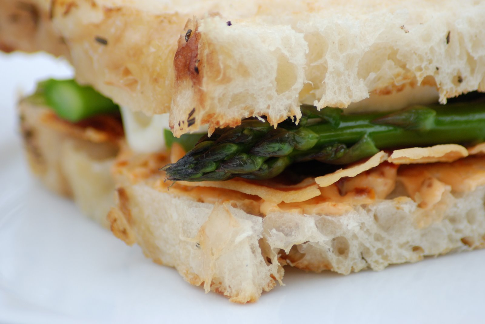 Pancetta, Asparagus, and Sundried Tomato Mayo Sandwich ...