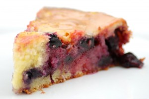 Blueberry-Lemon Coffee Cake with Lemon Glaze